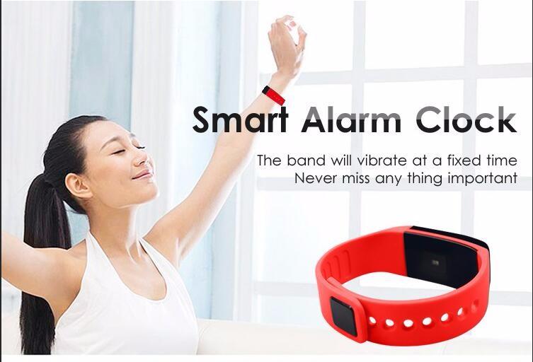 ถูก ใหม่หัวใจบลูทูธS Martbandสมาร์ทนาฬิกาสปอร์ตสายรัดข้อมือซิลิโคนอ่อนนุ่มวงอัตราการเต้นหัวใจติดตามOLEDหน้าจอสัมผัส