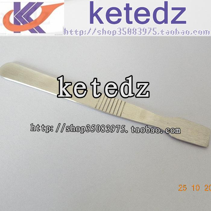 10PCS [ hard - strong - resistant stainless steel aluminum ] BGA solder scraper necessary demolition case(China (Mainland))