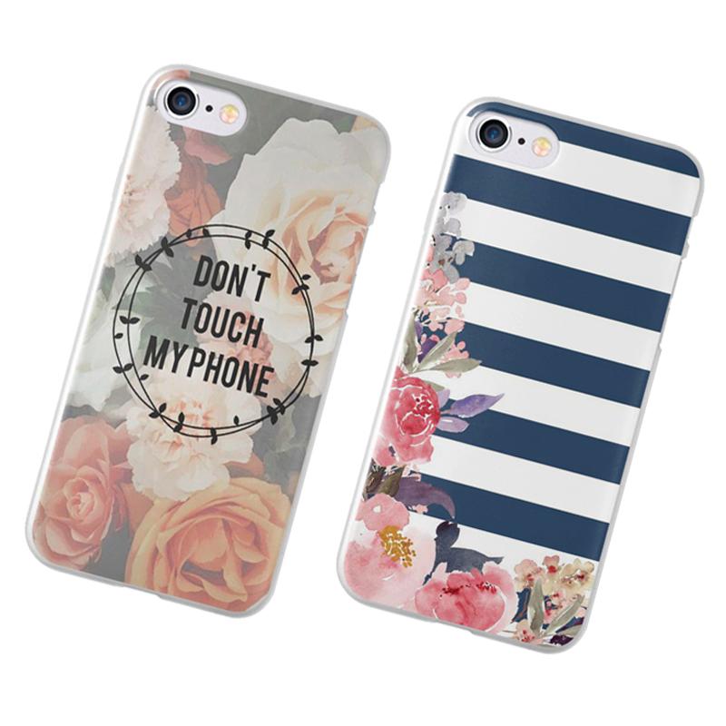 Shell For Apple iPhone 5 5S SE 5C 6 6 7 S Plus 6 SPlus Cover Cover Print Mandala flower Datura flower cell phone case(China (Mainland))