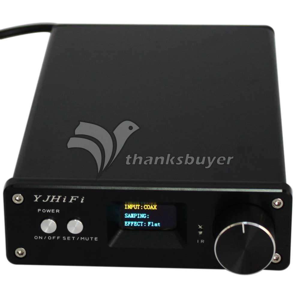 STA326+PCM2706+AK4113 OLED 2.0 Class D DC24V-32V Digital Stereo Audio Amplifier 2x50W <br>