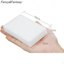 Fancy&Fantasy 50pcs 100X60X20mm Multi functional Magic Melamine Sponge Eraser Cleaner Cleaning Sponges Kitchen Bathroom Sponge(China (Mainland))