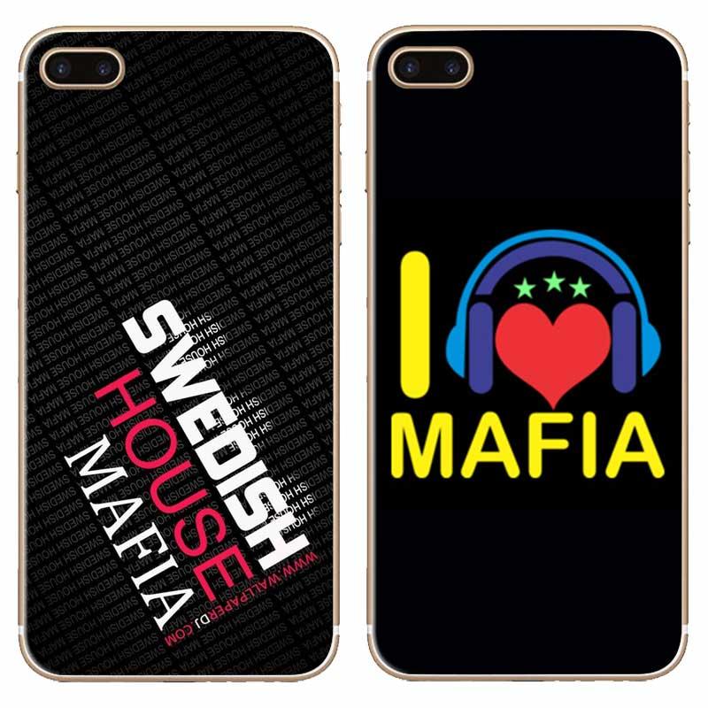 G297 Swedish House Mafia Transparent Hard Thin Case Cover For Apple iPhone 4 4S 5 5S SE 5C 6 6S 7 8 X Plus