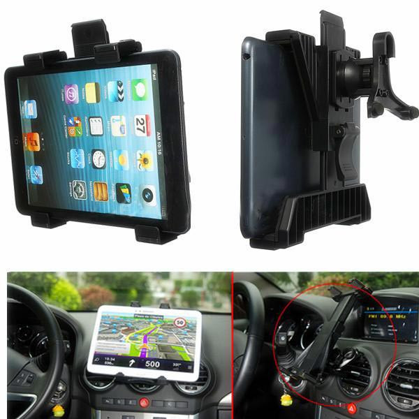 Best Promotion Super Quality Universal Used Car Air Vent Mount Holder Stand For iPad 3 4 Air Tablet GPS 7 to 10 inches(China (Mainland))
