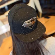 2015 New fashion unisex Plain Baseball Caps,superman batman logo Hip-hop Cotton Peaked hat,casual outdoor travel snapback sunhat