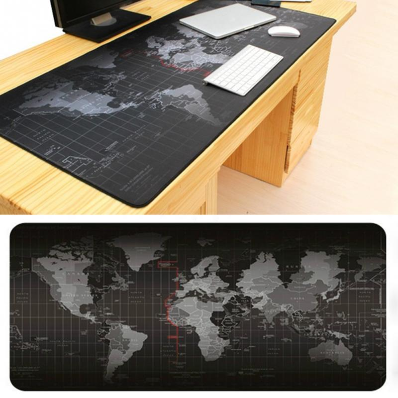Zimoon Store Large Gaming Mouse Pad The World Map Mouse Mat Desk Pad Keyboard Pad For Dota CS Go(China (Mainland))