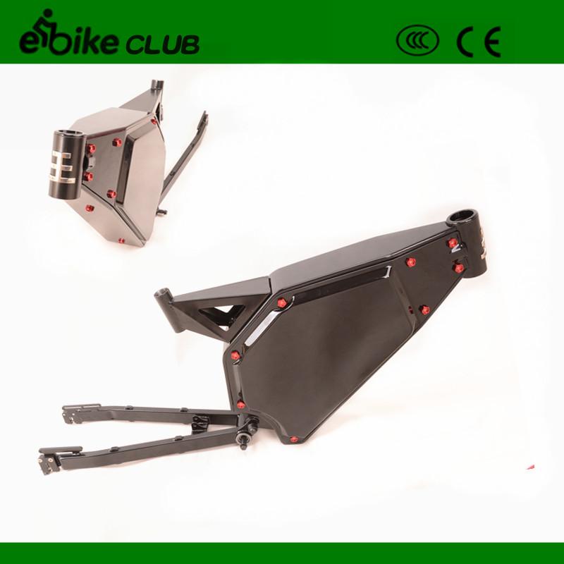 High performance full suspention enduroebike frame, electric bike frame for 5000w ebike(China (Mainland))