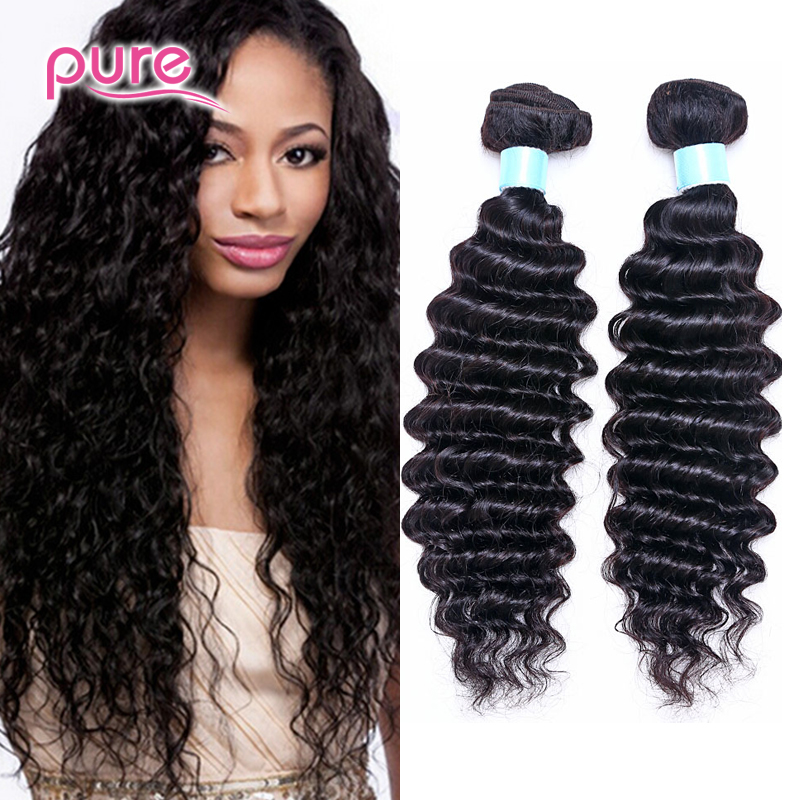 Cheap Human Hair Malaysian Deep Wave 7A Malaysian Virgin Hair 3Bundles Malaysian Deep Curly Virgin Hair Weave Human Hair Bundles