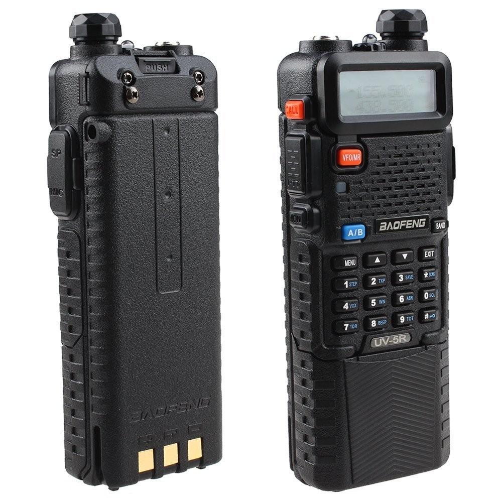 2PCS Walkie Talkie BaoFeng UV-5R with 3800mah Long Battery 128CH Dual Band VHF136-174MHz&UHF400-520MHz 5W Two Way Radio UV5R(China (Mainland))