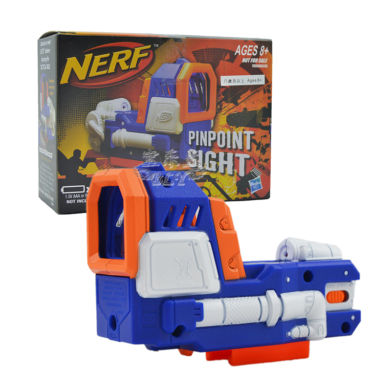 Hot sale Nerf N-strike Soft bullet toy gun Elite Accessories PINPOINT SIGHT Children gun kid pistol gift in free shipping(China (Mainland))