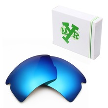 MRY POLARIZED Replacement Lenses for Oakley Flak 2.0 XL Sunglasses Ice Blue