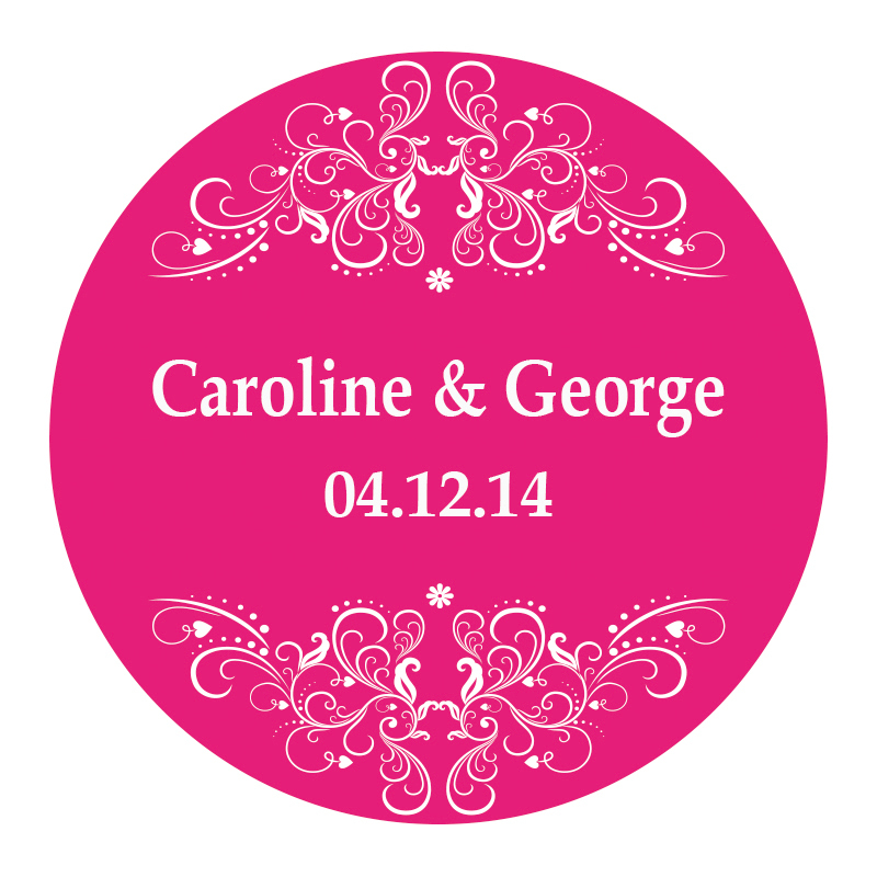 Wedding Gift Sticker Template : -Wedding-design-Sticker-Labels-Seals-3cm-Gift-stickers-for-Wedding ...