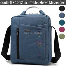 2016 New Fashion 8 9 10 11 12 inch Tablet Cover Shoulder Bag Handbag Messenger Case For Macbook/iPad Men Women Kids Child Bag(China (Mainland))