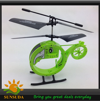 Free Shipping Elephant Style Infrared Remote Control R/C Helicopter with LED Light Mini Radio Control copter