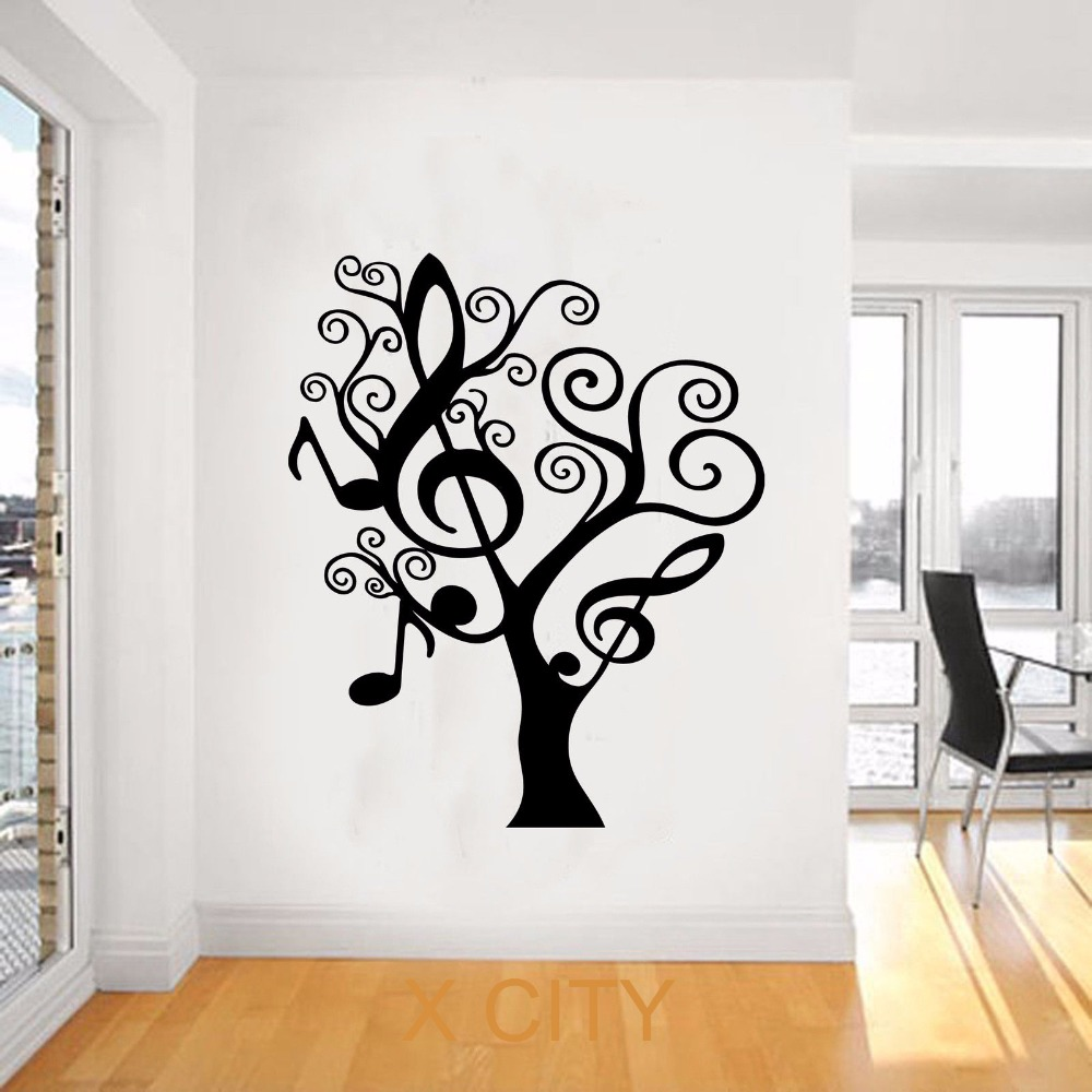 Silhouette Tree Wall Decal Promotion Shop For Promotional