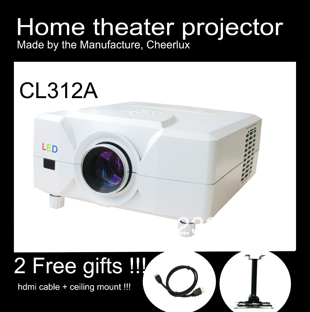 Tv Tuner Projector High Definition Home Theater Wxga Full: Big Promotion! High Quality Entertainment Lcd Projector
