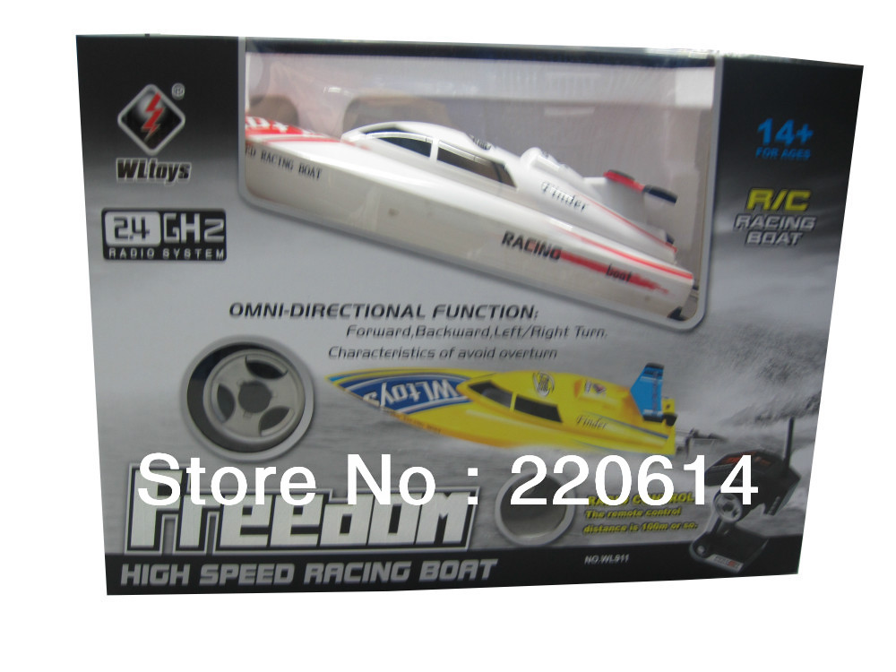 New WL911 mini 2.4Ghz  rc high speed racing  boat