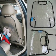 New Car Covers Seat Back Protector For Kids Children Kick Mat Mud Cleaner For Baby Dogs From Mud Dirt Black&Blue LY302  (China (Mainland))