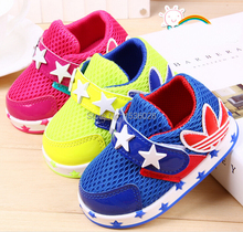 2015 hot spring models candy colors  mesh shoes baby sneakers