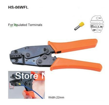 Insulated Terminals Crimper Plier 24-10AWG 0.25-6.0mm 22mm Width Die Sit<br><br>Aliexpress