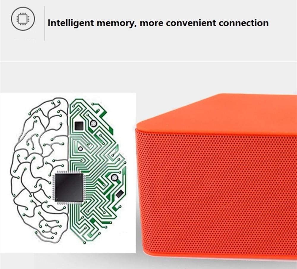 ml – 23u portable mini wireless bluetooth speaker super bass loudspeaker with dynamic intelligent hands free fm radio support