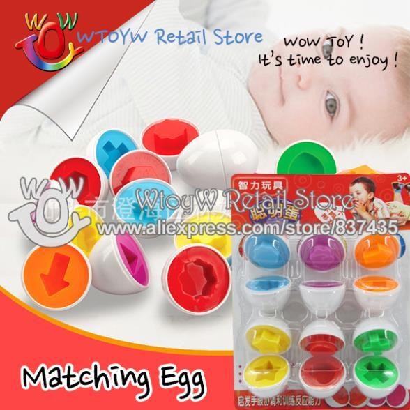 5 набор 6pair/Set  обучающую смешные детские головоломки яиц детские игрушки обучение и образование brinquedos educativos