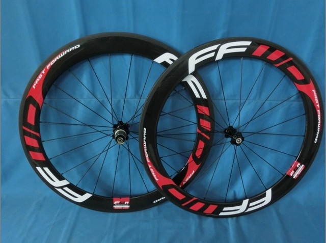 wholesale-FFWD carbon clincher/tubular 60mm&carbon fibre wheelset tubular/clincher&3k glossy/matte finishing