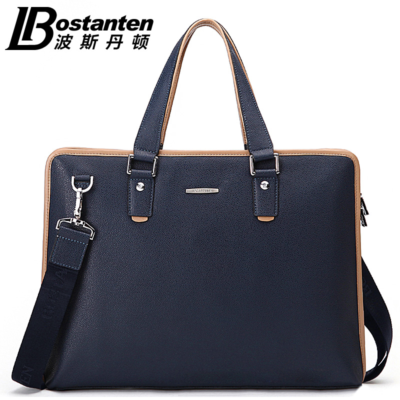 Fashion Men's Genuine Leather Computer Briefcase Shoulder Bag Messenger Business Bag Casual Men's Messenger Bags bolsas B10793