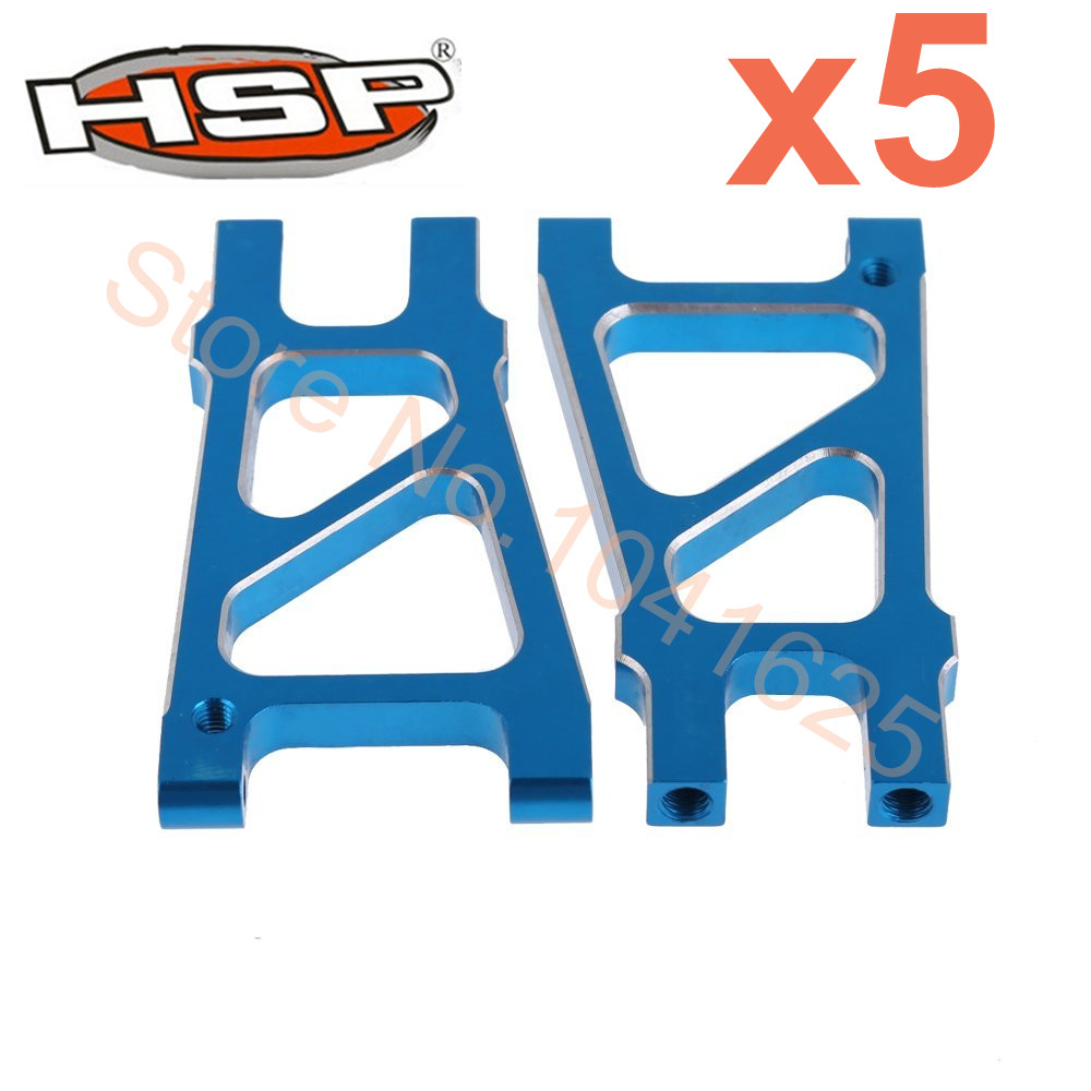 Wholesale 5Pairs/Lot HSP Upgrade Parts 188021 08039 Rear Lower Suspension Arm For 1/10 Hi RC Baja Off Road Monster Truck 94188(China (Mainland))