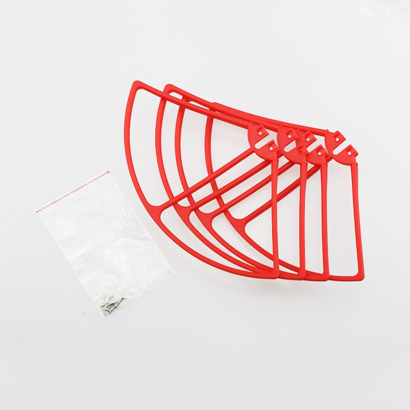 12PCS for Syma X8C RC Quadcopter protecting Guard Cover Frame Propeller Blades Protector Spare Parts Accessories