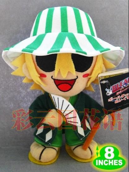 Movies & TV Bleach figure 20cm Urahara Kisuke plush toy doll gift p954(China (Mainland))