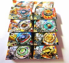 8Sets/lot Kid Child Boy Toy Spinning Tops Clash Metal 4D Beyblades Beyblade 8Style BB105/106/108/109/111/114/117/Limited Edition(China (Mainland))