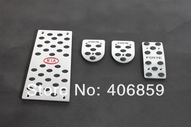 Купить Высококачественной нержавеющей стали ручной Дроссель сцепления тормоза остальные педали Для 2009-2012 KIA Cerato/Forte