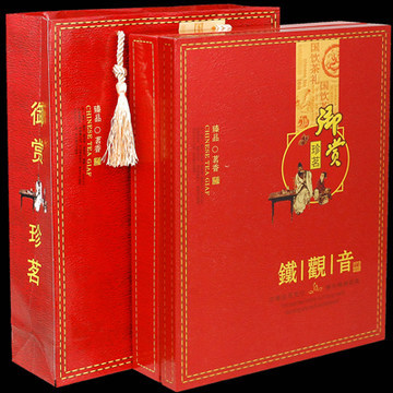 Tie Guan Yin Oolong Tea Chinese leadership gifts Luzhou Tieguanyin tea super high end gift box