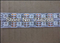 5m WS2811 LED digital strip,60leds/m with 60pcs WS2811 built-in tthe 5050 smd rgb led chip.non-waterproof,DC5V input
