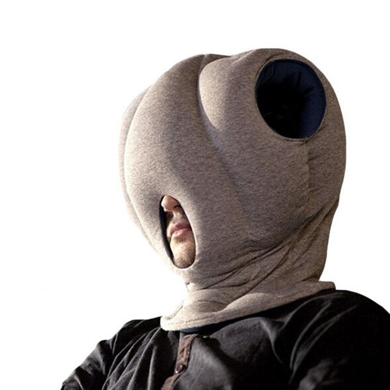 Travelling Mini Glove Pillow Ostrich Pillow For Creative
