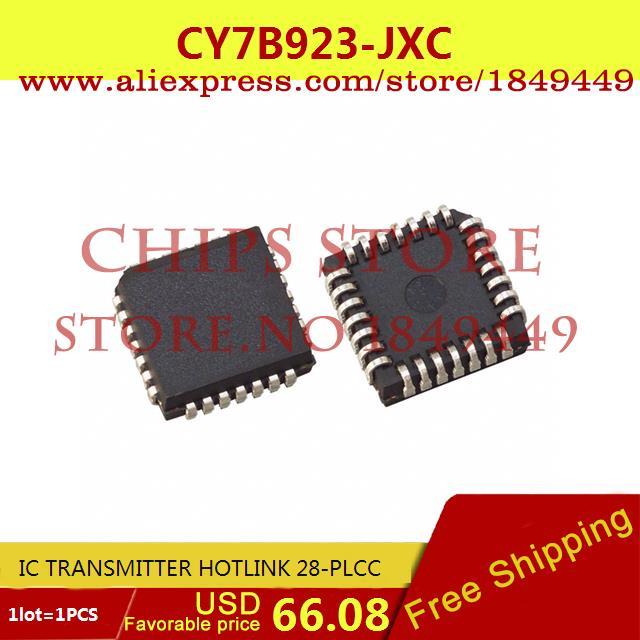 Здесь можно купить  Free Shipping Diy Kit Electronic Production CY7B923-JXC IC TRANSMITTER HOTLINK 28-PLCC 7B923 CY7B923 1pcs  Электронные компоненты и материалы