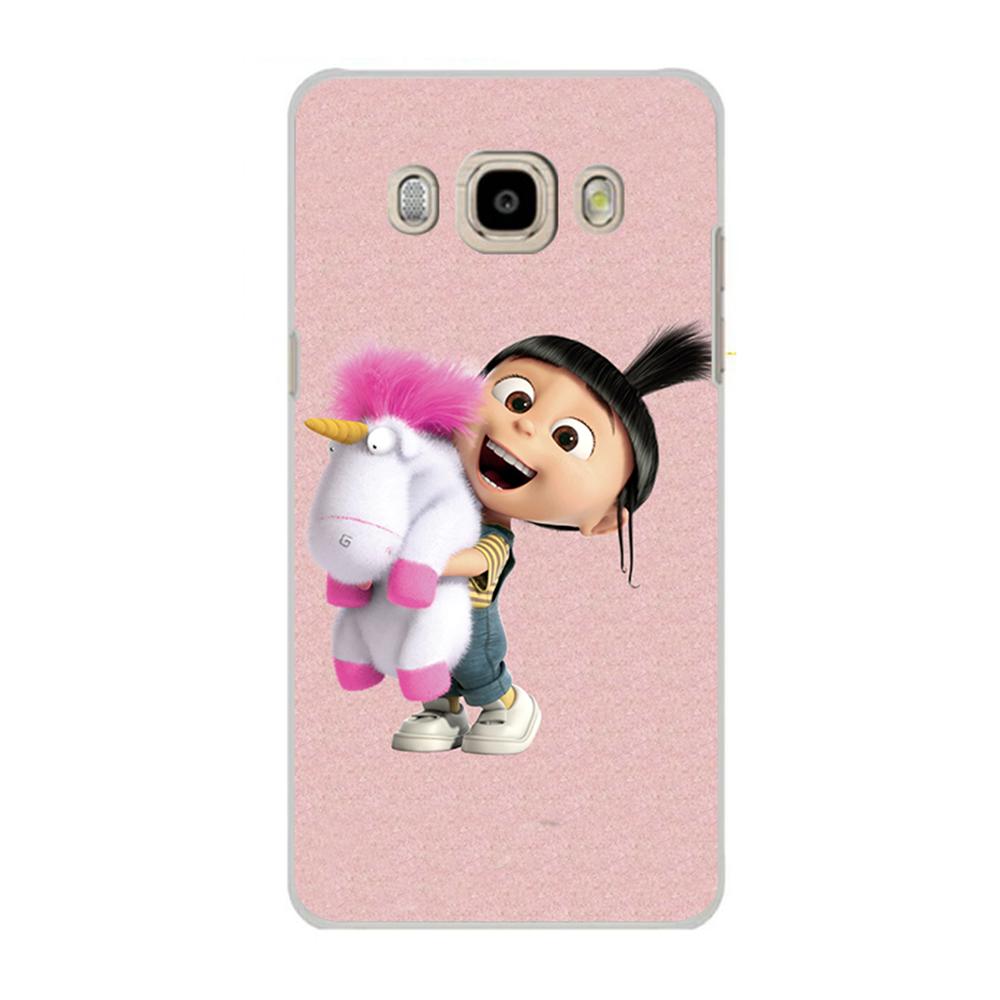 1PCS Minion Unicorn Agnes Phone Case Samsung Galaxy J5 J7 A3 A5 A7 J1 MINI 2016 case Cover S3 S4 S5 MINI Ace 4 G313H