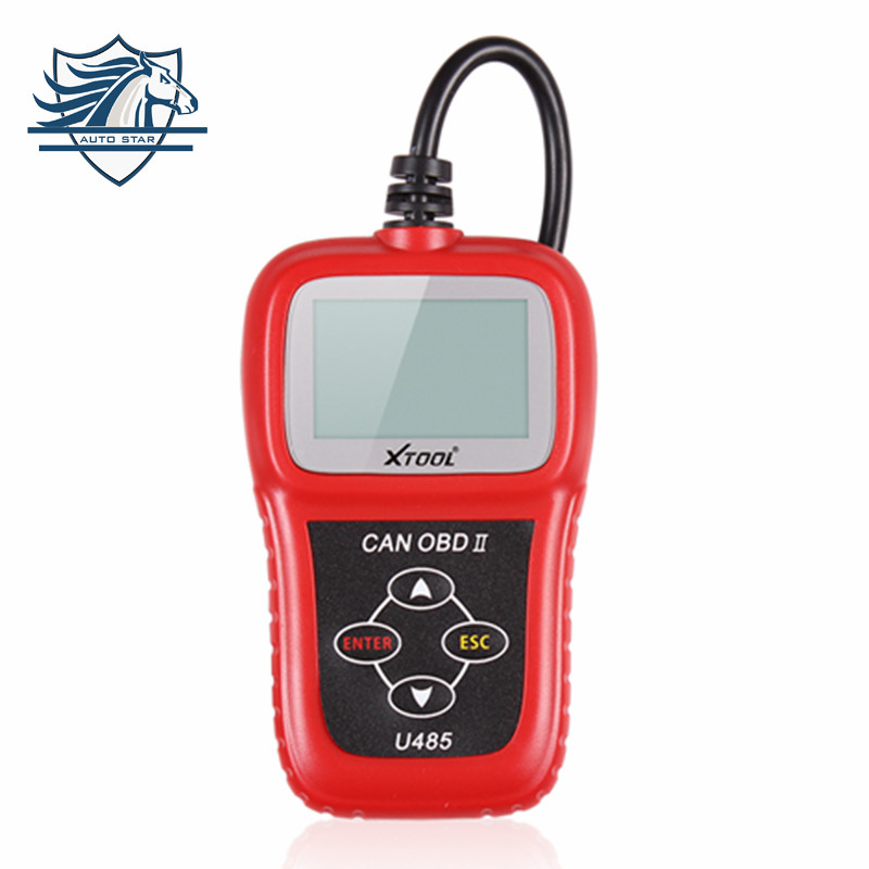 Top Quality Newest Can Bus Obd2 Code Reader U485 EOBD2 OBDII CAN-BUS Scanner Read & Clear DTCs Support Multi-brand Cars(China (Mainland))