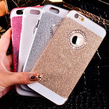 New Fashion Luxurious Design Bling Sparkling Crystal Rhinestone Diamond Mobile Phone Case Cover For iPhone 4 4s (China (Mainland))