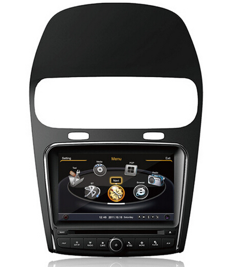 Car DVD GPS Navigation For Fiat Freemont Leap Dodge Journey 2011-2014 20CDC Radio RDS Bluetooth 3G WiFi Steering Wheel Control(China (Mainland))