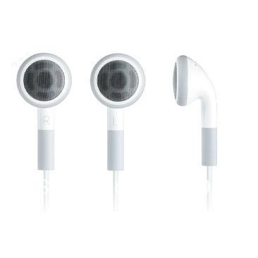 Free shipping!2nd generation Apple II Apple headphones earbuds cord MP3 MP4 computer phone music on headphones(China (Mainland))