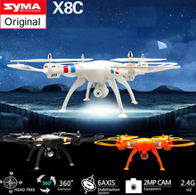 2015 Newest Drone With Camera Syma X8C 2.4G 4ch 6 Axis Venture with 2MP Wide Angle Camera RC Quadcopter RTF RC Helicopter