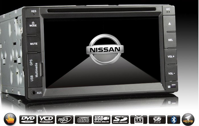 car radio for nissan qashqai navara navigation system car. Black Bedroom Furniture Sets. Home Design Ideas