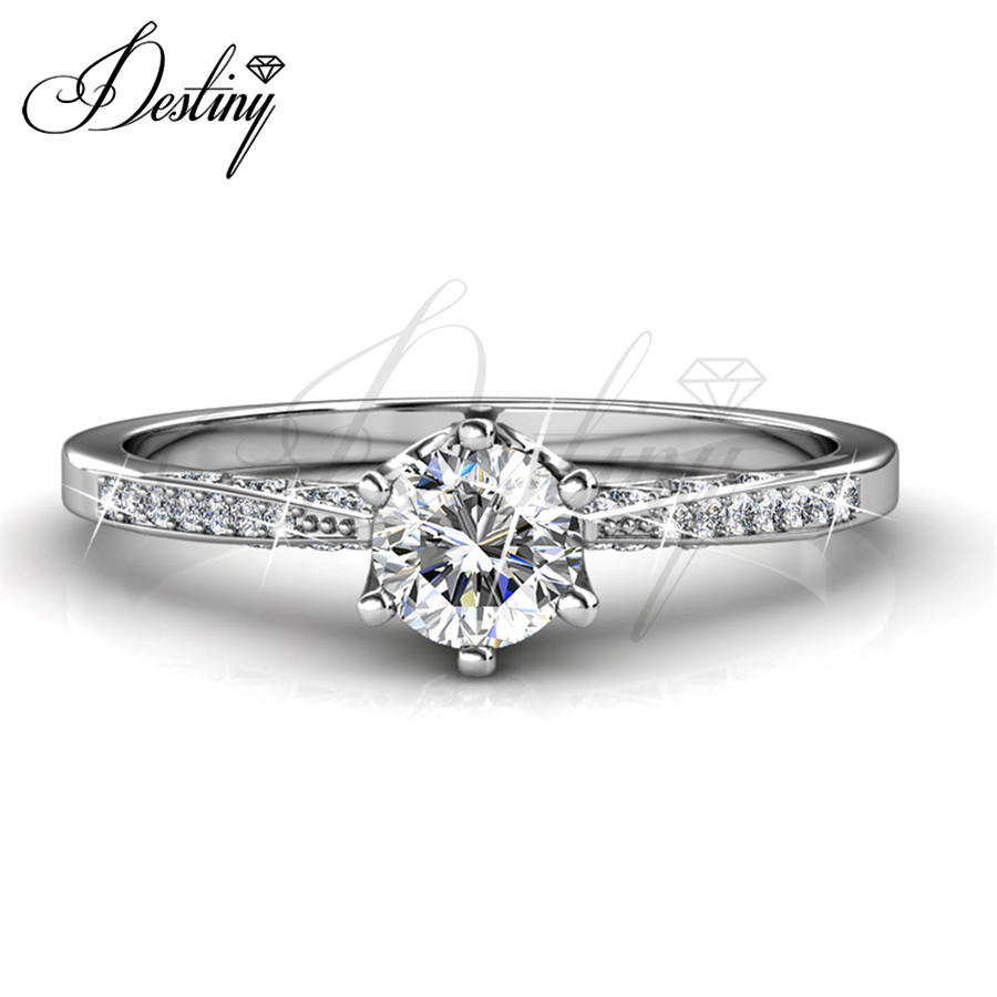 Destiny Jewellery Embellished with crystals from Swarovski Ring Fashion Jewellery Ring DR0177(China (Mainland))