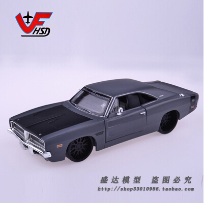 Store opening Maisto 1:24 1969 Challenger Car model Toy American Muscle Car Simulation alloy car model Fast & Furious 7(China (Mainland))