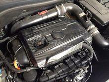 Engine Value Cover Hood Fit For VW Golf 6 VI GTI MK6 Scirocco Carbon Fiber Black(China (Mainland))