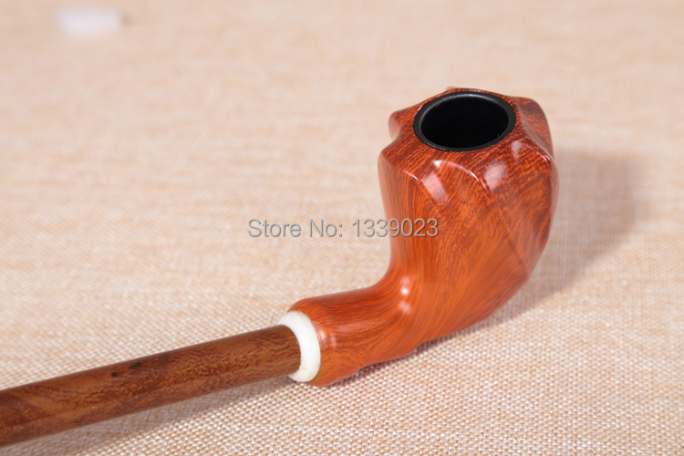 Freeshipping wholesale hot classic durable snuff wood pipe cigar tube Long pole tobacco weed pipes smoking