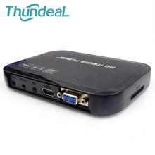 HD601 Multimedia H.264 MKV Full HD 1080P HDMI HDD Media Player Center HDMI VGA AV Output with Remote Control AVI RMVB RM OTG(China (Mainland))
