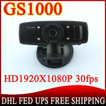 10 pcs GS1000 Car DVR with Full HD1920*1080P Accident Camera Night Vision 4 IR CPU(China (Mainland))