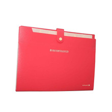 New style Plastic 6 Pockets A4 Paper File Folder Cover Holder Business Document For Office Supplies Drop Shipping HG182 A01101(China (Mainland))